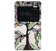 Pattern PU Card Holder Leather Case for Wiko Rainbow Lite 4G