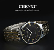 Men's Classic Business Style Steel Strap Quartz Watch
