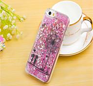 For iPhone 6 Case / iPhone 6 Plus Case Flowing Liquid / Pattern Case Back Cover Case Glitter Shine Hard PCiPhone 6s Plus/6 Plus / iPhone