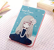 Little Girl Series Five PU Leather Full Body Case With Stand for iPad Mini 3/2/1