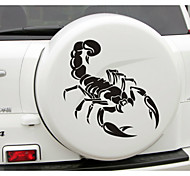58*59CM Funny  The scorpion totem Car Sticker Car Window Wall Decal Car Styling (1pcs)
