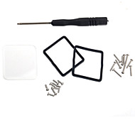 Waterproof Housing Glass Cover Lens Kit for Gopro Hero 3 with Screw Screwdriver Fix Tools