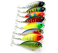 8Pieces Hengjia VIB Baits Vibration  6.6g 55mm Fishing Lure Random Colors