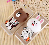 Multi-function Lovely Cartoon Support&Wnding Device For IPhone 6/6s Plus Assorted styles