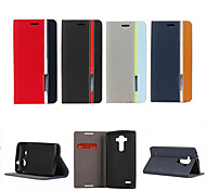 Retro Fashion Deluxe Leather flip Wallet Stand Case For LG G3/G4/L90/G3mini