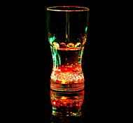 colorido, bar, romance vidro / copo / vidro / plástico 1pcs chá bebida