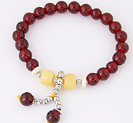 Women's Korean Fashion Wild Metal Beads Charm Bracelet
