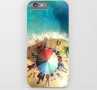 cubierta de la caja dura de sombrilla de playa para pc iPhone6 / 6s