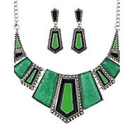 Bijoux Colliers décoratifs / Boucles d'oreille Mariage / Quotidien Alliage 1set Femme Cadeaux de mariage