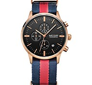 Megir Men Chronograph Watch Men's Watch Top Brand Luxury Date Quartz Casual Sport Watch Men relogio masculino Wrist Watch Cool Watch Unique Watch