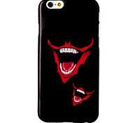 Red Lips Pattern TPU Material Phone Case for iPhone 6/6S
