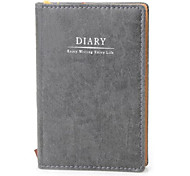 Artificial Leather Cover 72K Notebook Notepad