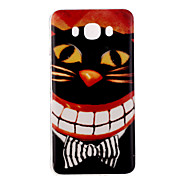 The mouth of the cat Pattern TPU Soft Case for Galaxy J1 Ace/Galaxy J5(2016)/Galaxy J1(2016)