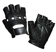 Glove Cycling / Bike Unisex Fingerless Gloves Wearproof  Black M/L