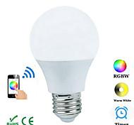 4W E26/E27 Декоративное освещение B 1 COB 300-3600 lm RGB Bluetooth AC 100-240 V 1 шт.