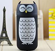 220ML Cute Stainless Steel Owl Flask Vacuum Thermal Cup Heat Insulating Mug