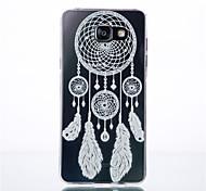 Campanula Pattern TPU Phone sets For Galaxy A3/A9/A310/A510/A710
