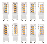 10pcs G4 G9 E14 3.5W 35x2835SMD 350LM 3000K/6000K Warm White/Cool White Light LED Corn Bulb(AC200-240V)