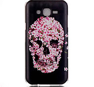 Skull Pattern PC Material Phone Case for Samsung Galaxy J1/J120/J5/J510/J7/J710