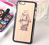 The Pirate Ship PC 3D Printing Carving Hard Back Case for Iphone6 Plus/6s Plus