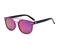 Sunglasses Men / Women / Unisex's Fashion Browline Black / Gold / Pink / Purple / Gray Sunglasses Full-Rim