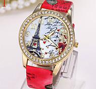 Ladies' Watch Paris Eiffel Tower Love Diamond Watch