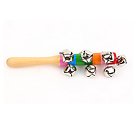 Wood Colorful Bells Toys Musical Instruments Music Toys for Kids