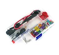 coche 12v para añadir un circuito de fusible de cuchilla del adaptador del grifo atm APS titular att fusible plano, 30pcs fusible,