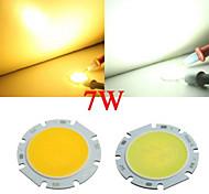 10pcs 7W 20mm emittieren Bereich cob 550lm 3000K / 6000K warmes weißes / kühles weißes Licht LED-Chip (20-25v, 300mA)