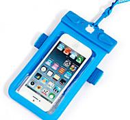 Сухие боксы Водонепроницаемые сумки Сотовый телефон Защита от влаги Подводное плавание и снорклинг PVCКрасный Оранжевый Зеленый Синий