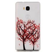 árvore de amor coletor ideal do teste padrão sofe TPU luminoso para 5x honra Huawei