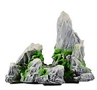 Aquarium Decoration Ornament / Rocks Artificial Plastic