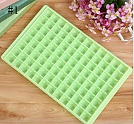 96 Cells Ice Cube Tray Maker Moulds Chocolate Jelly Sweet Candy Trays Random Color
