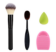 Makeup Toothbrush  Cream Powder Blush Brush Washing Cleaning Brush Egg and Green Small Size Makeup Sponge