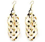 European Style Gold/Silver Multilayer Earrings Jewelry for Women