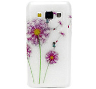 For Samsung Galaxy Case Translucent / Pattern Case Back Cover Case Dandelion TPU Samsung A5 / A3