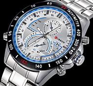 CURREN® Men's Aviator Style Dress Watch Japanese Quartz Stainless Steel Strap Cool Watch Unique Watch