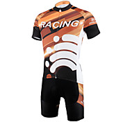 PaladinSport Men 's Cycyling Jersey + Shorts Bike Suits for DT613 go hand in hand