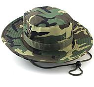 Gorro para el Sol Sombrero Alta transpirabilidad / Materiales Ligeros / Suave Unisex Beige / Camuflaje / Verde Militar / Caqui Claro100%