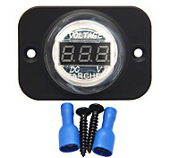 digitale waterdichte LED voltmeter spannungstester druppel auto