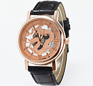 New Arrival Chinese Factor Skeleton Wristwatch For Men and For Women Rose Golden Dial  Fashion Casual  Quartz wrist Watch