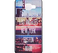 город картины TPU телефон случае для Samsung Galaxy A3 (2016 г.) / галактики a5 (2016 г.) / галактики А7 (2016 г.)