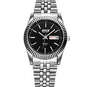 Men's Fashion Watch Sunday Calendar Waterproof Steel Quartz Watch(Assorted Colors) Wrist Watch Cool Watch Unique Watch
