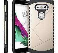 Для Кейс для LG Защита от удара Кейс для Задняя крышка Кейс для Армированный Твердый PC LG LG G5 / LG G4