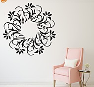 Romanticismo / Fashion / Floreale Adesivi murali Adesivi aereo da parete,PVC S:35*35cm/ M:42*42cm L:55*55cm