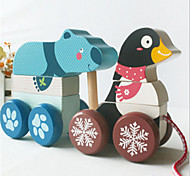 Penguin tractor toy