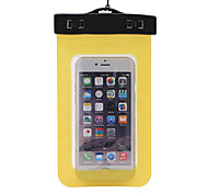 Dry Boxes Dry Bag / Waterproof Bag For Cellphone Waterproof Diving / Snorkeling PVC Yellow Green Blue Purple Black