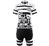 PALADIN® Cycling Jersey with Shorts Women's Short Sleeve Bike Breathable / Quick Dry / Back Pocket Jersey + Shorts / Clothing Sets/Suits