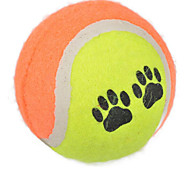 Dog Toy Pet Toys Ball Tennis Ball Random Color Rubber