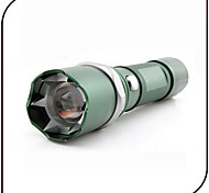 Lights LED Flashlights/Torch LED 300 Lumens 3 Mode Cree Q5 18650Adjustable Focus / Waterproof / Rechargeable / Impact Resistant /